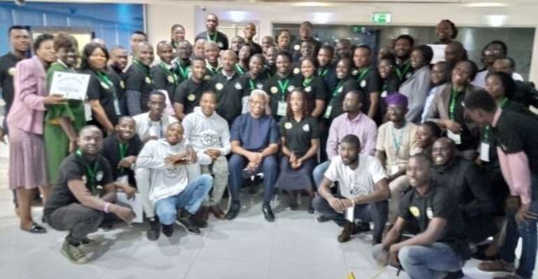 Some 100 Educators from three Under​-​served Local Council Development Areas in Lagos State, Nigeria were trained under the program held at the IBM Innovation Center, Churchgate Towers in Victoria Island, Lagos – Nigeria lasted 4 days.