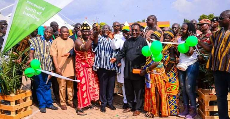 Bawumia Opens Agric-Fair Ahead Of Farmers Day Celebration In Ho