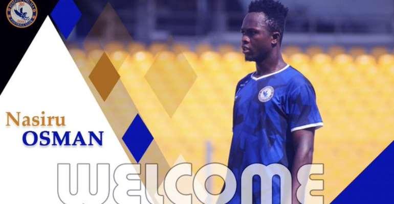 OFFICIAL: Berekum Chelsea Announce Signing Of Nasiru Osman
