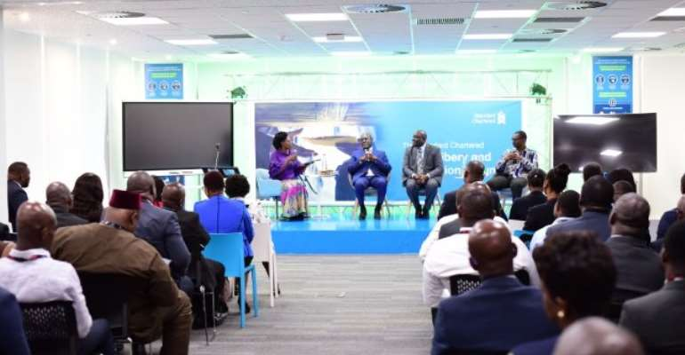 StanChart Meets Stakeholders In Anti-bribery, Corruption Fight