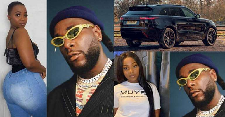 """Two years of being a side chick & you didn't get a Range Rover"" – UK Comedienne trolls Burna Boy's alleged side chick <p data-wpview-marker="