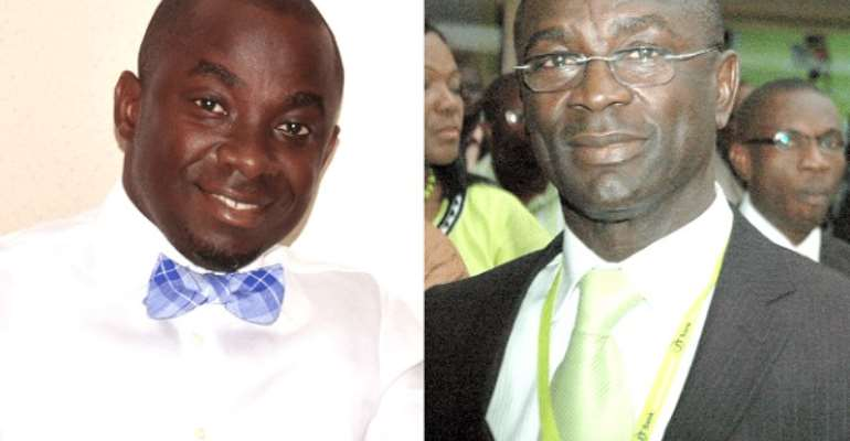 Michael Nyinaku and Prince Kofi Amoabeng