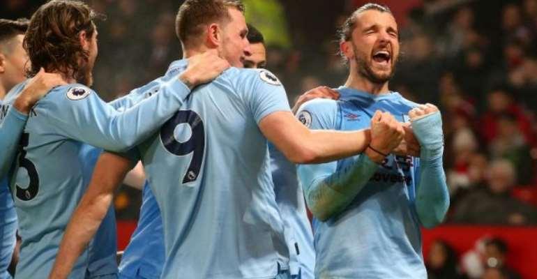 Insipid Man United Beaten By Burnley At Half-Empty Old Trafford