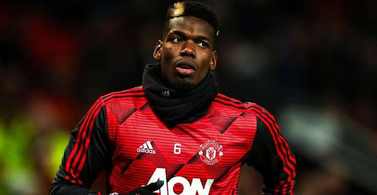 Pogba's Agent Hints At Potential Man United Exit