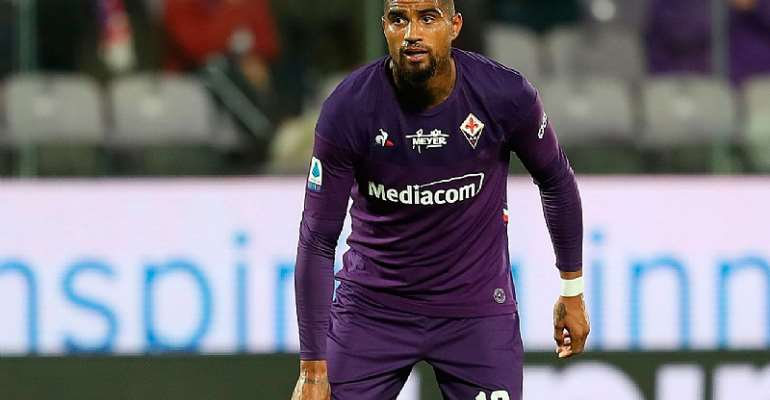 Kevin Prince Boateng To Quit Fiorentina At The End Of The Season
