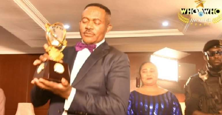 Godwin Maduka Bags Exceptional Humanitarian Awards, Joins The StandOf Fame Honour