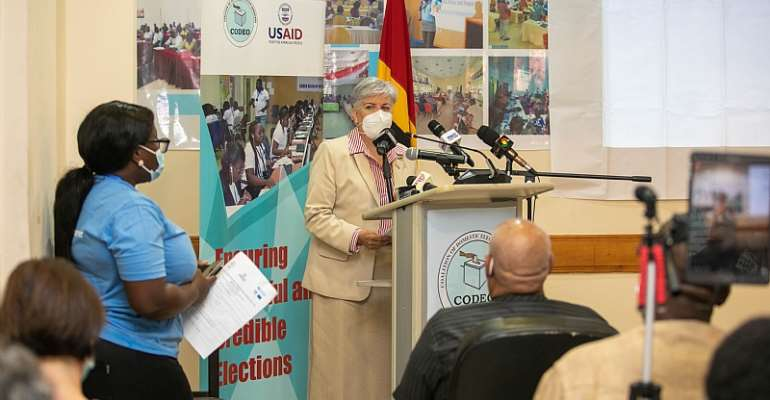 US supports Ghana's electoral processes through a partnership with CDD-Ghana