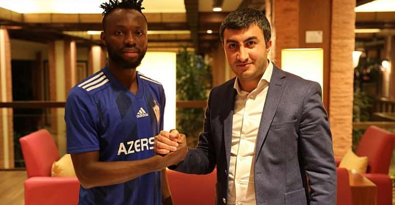 Kwabena Owusu Joins Azerbaijan Side Qarabag From Leganes