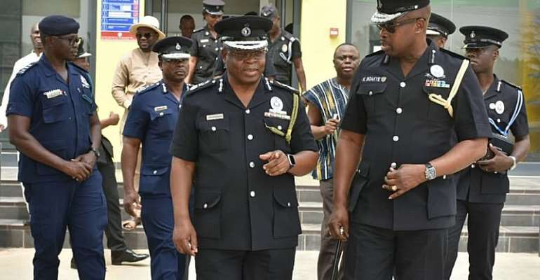 IGP Storms Mankessim Following The Shooting Of Two Cops