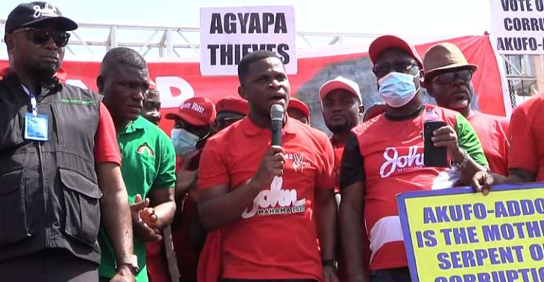 Nepotism, corruption rife under Akufo-Addo gov't – Sammy Gyamfi
