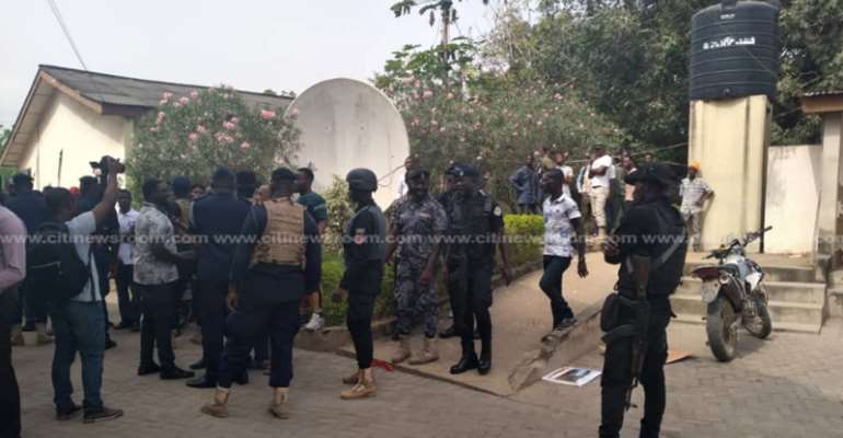 Three NPP Foot Soldiers Arrested For Rioting Against GA West MCE