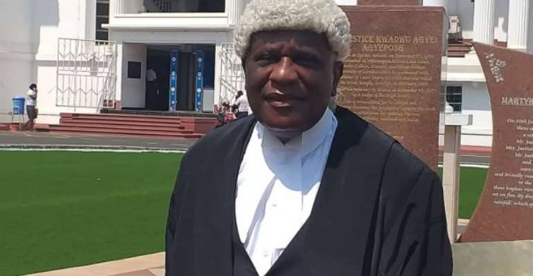 Don't compromise on requirements of justice — Justice Gbadegbe to members