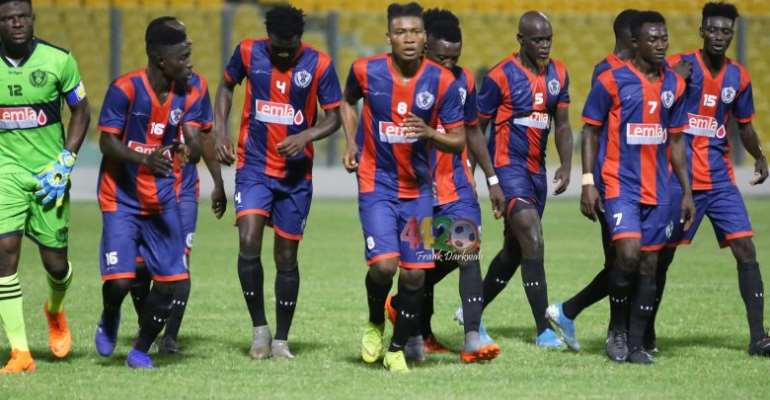 GHPL: Watch highlights of Legon Cities FC's 5-2 win against Ashanti Gold SC