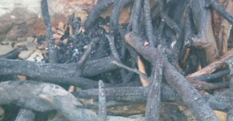 Fire gut shops in Wa 'Kejetia' Market