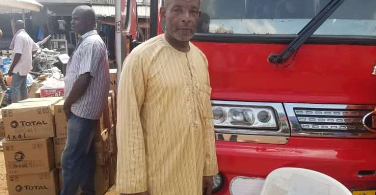 National Chairman for Alliance of Drivers, Alhaji Siaka Yahaya