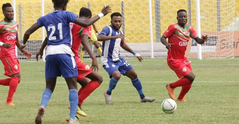 GHPL: Tough fixture between Great Olympics and Karela United ends goalless
