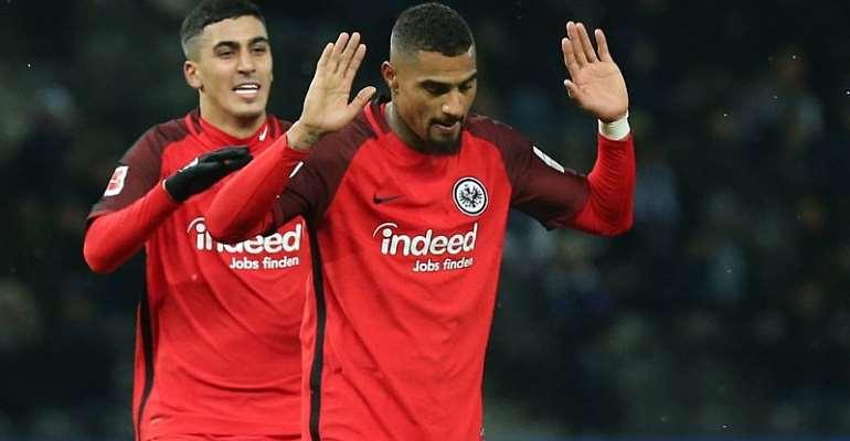 Kevin-Prince Boateng Ecstatic Despite Scoring To Breaks Hertha Hearts In Berlin