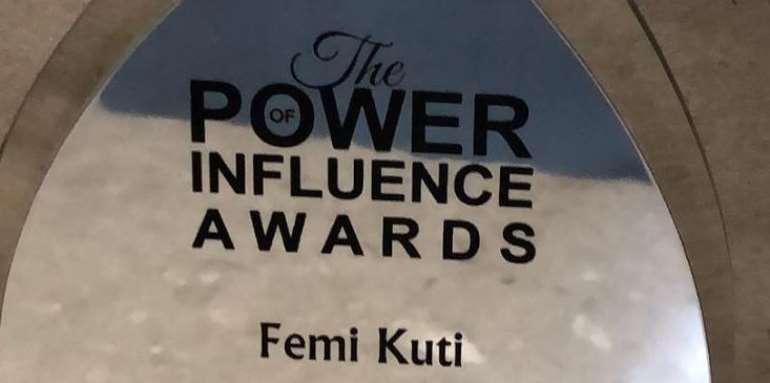 Afro Beat Singer, Femi Kuti Wins Global Icon Award