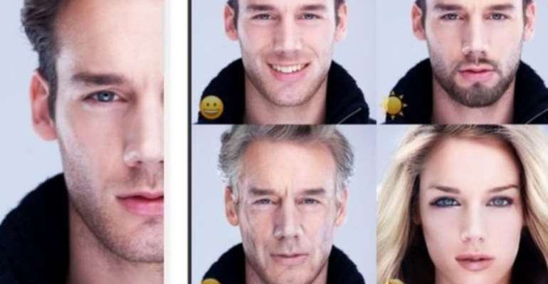 FaceApp alters users' photos to make them look older or younger