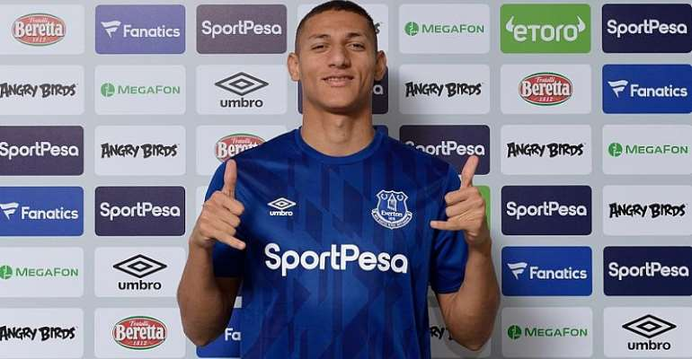 Richarlison Extends Everton Deal To 2024