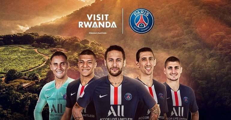Rwanda Signs 'Visit Rwanda' Sponsorship Deal With PSG