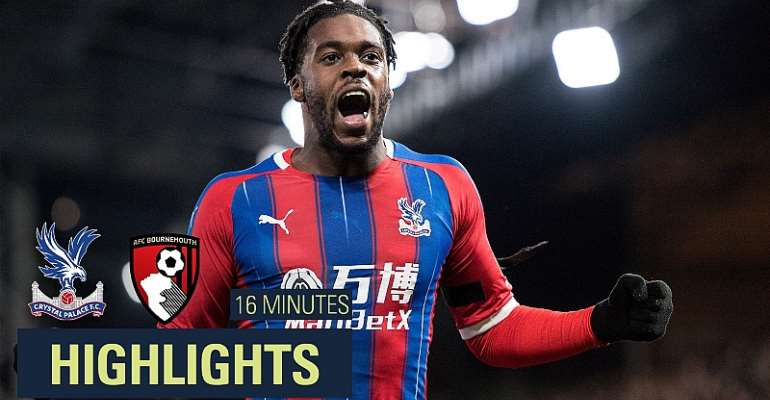 VIDEO: Watch Schlupp's Amazing Solo Goal For Crystal Palace Against Bournemouth
