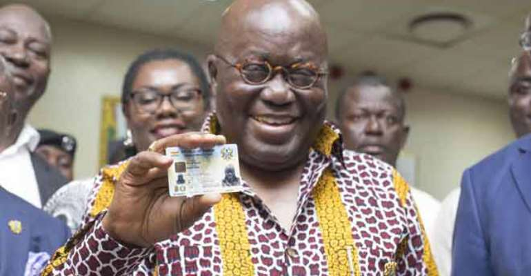 Are Waiting For The Ghana Card To Be Inaugurated?