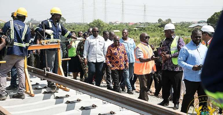 Tema-Mpakadan Railway Line To Be Ready In August 2020 – Minister