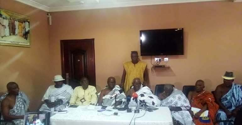 The Atomic Energy Commission Lands Belong To Us – Nii Odai Ntow Family Insists