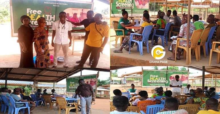 Nurse Organises Free health Screening In Ketu South