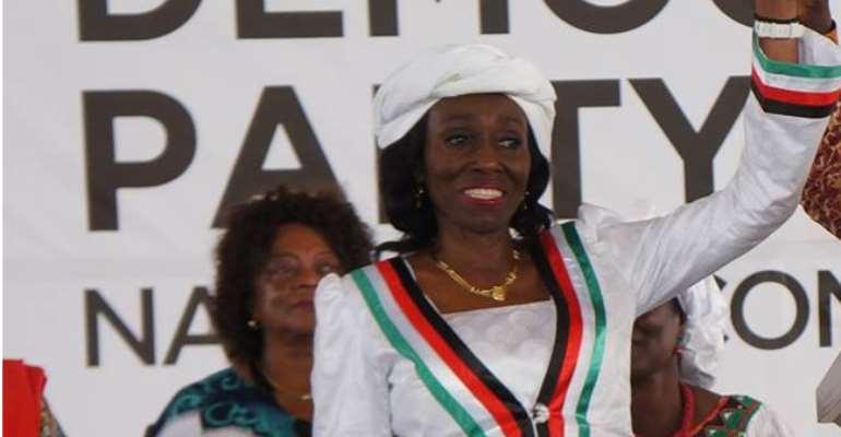 NDC Presidential Candidate Mrs. Nana Konadu Agyemang-Rawlings