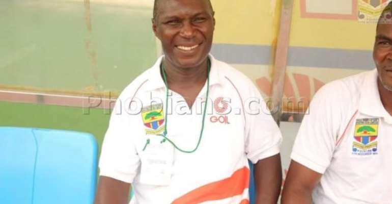 Interim coach of Hearts of Oak, Edward Nii Odoom