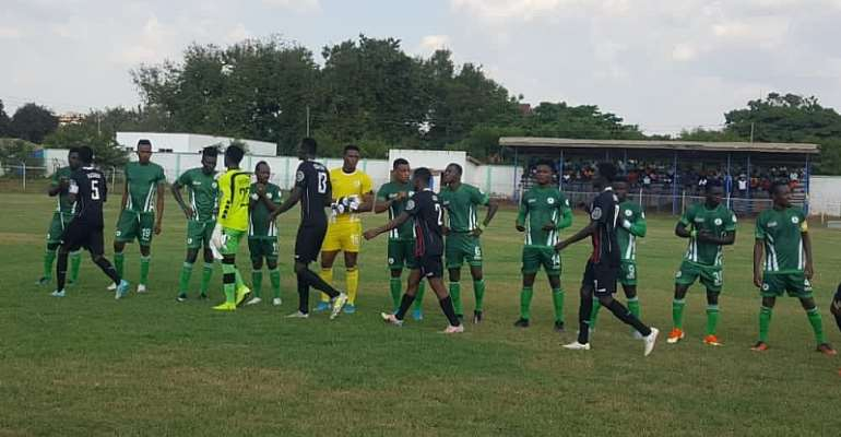 Late Samuel Kusi strike hands King Faisal narrow win against Inter Allies FC
