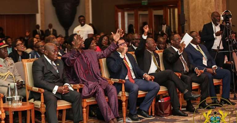 Did Akufo-Addo Need An Elephant-Sized Delegation To London?