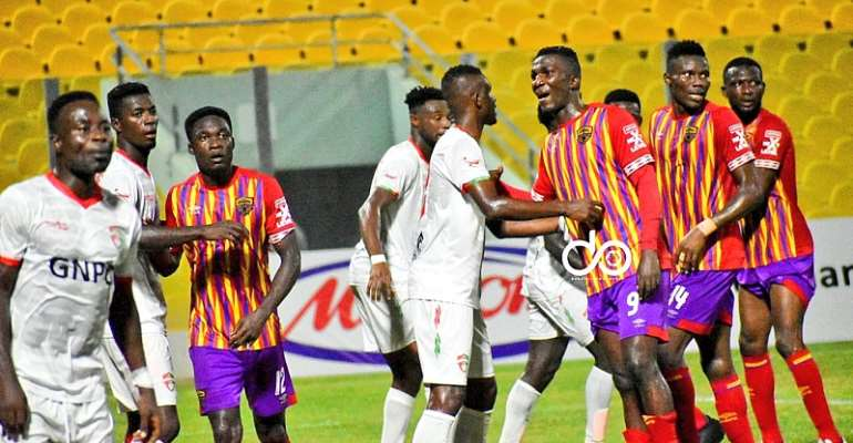 Resilient Karela United draw goalless with Hearts of Oak to stay top of Ghana Premier League