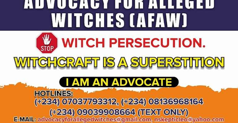 AfAW And Witch Persecution In Africa