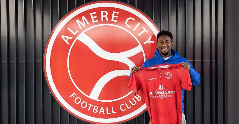 Ghanaian youngster John Yeboah joins Dutch lower-tier side Almere City FC
