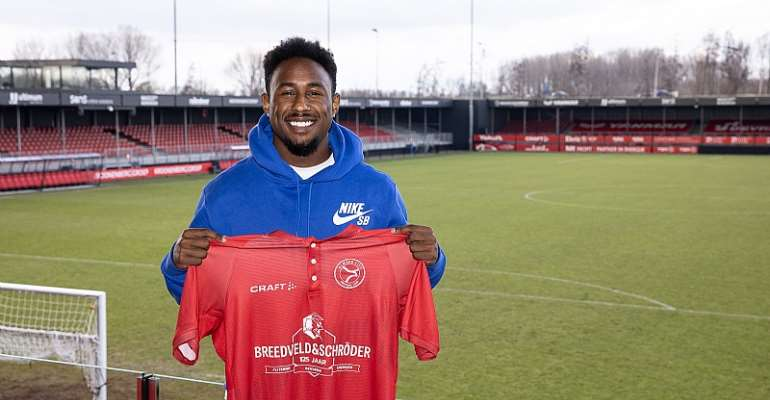 Youngster John Yeboah keen on rediscovering best form at Almere City FC