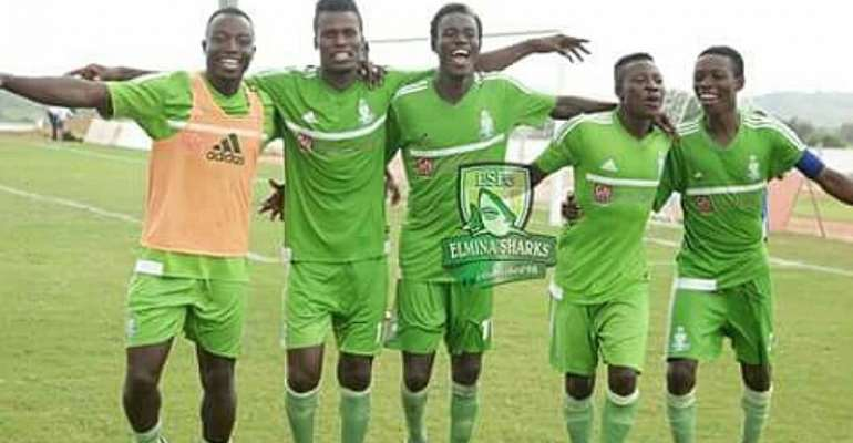 GHPL: Elmina Sharks defeat Bechem United 2-1 as tough encounter ends in dramatic fashion