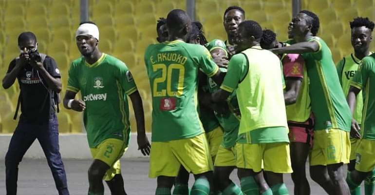 GHPL: Aduana Stars now second on league table after massive win against Asante Kotoko