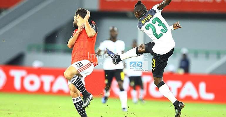 AFCON 2017 Player Ratings: Ghana 0-1 Egypt - How the Players Players fared in the narrow slip to the Pharaohs