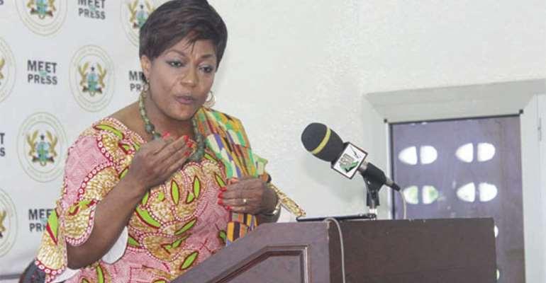 Otiko Afisa Dzaba,Minister for Gender and Social Protection