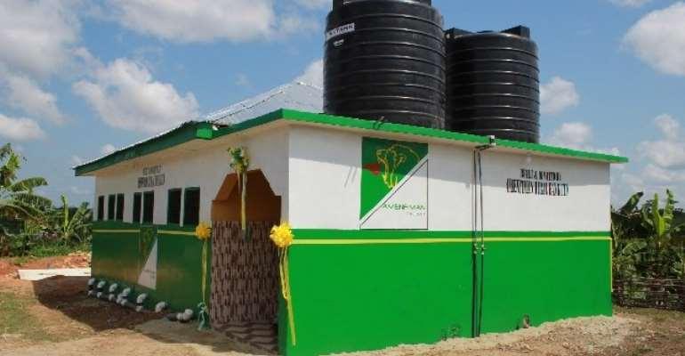 Amenfiman Rural Bank supports Asankragwa SHS with modern sanitation facility