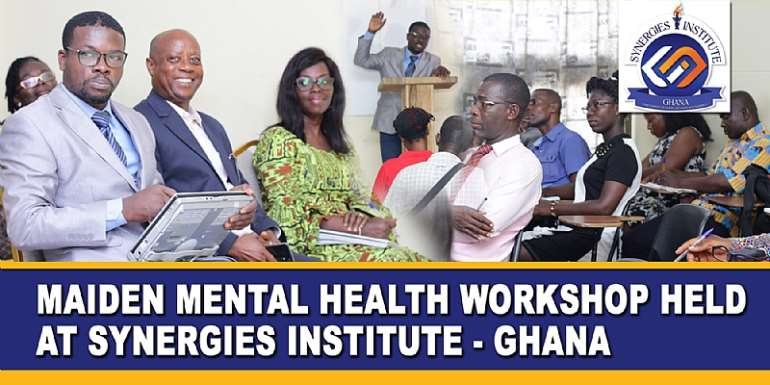 Maiden Mental Health Workshop Held At Synergies Institute