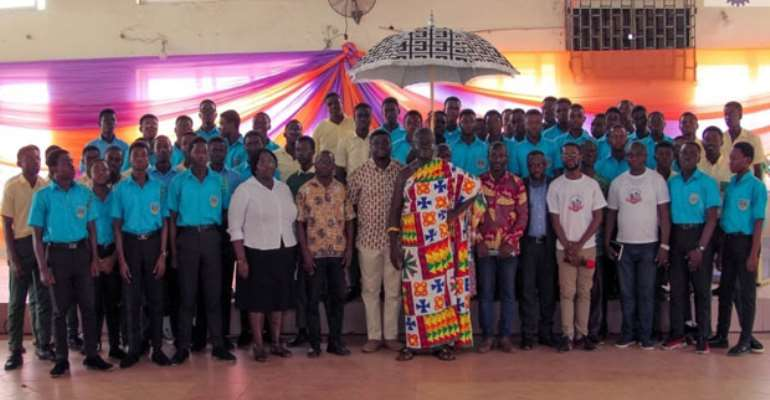 A group photograph of the participants after the launch of the clubs