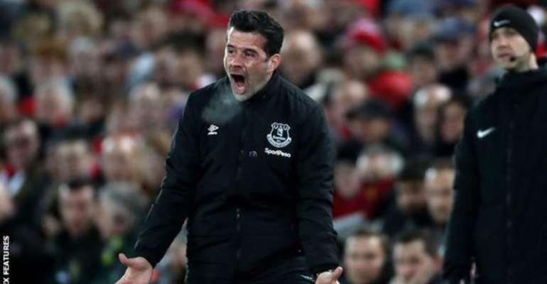 Everton Boss Marco Silva Faces The Sack After Derby Thrashing At Anfield