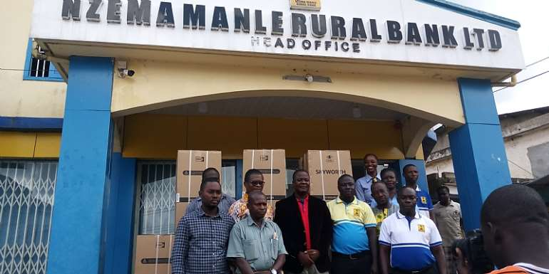 Nzema Manle Rural Bank supports four Assemblies towards Farmers' Day