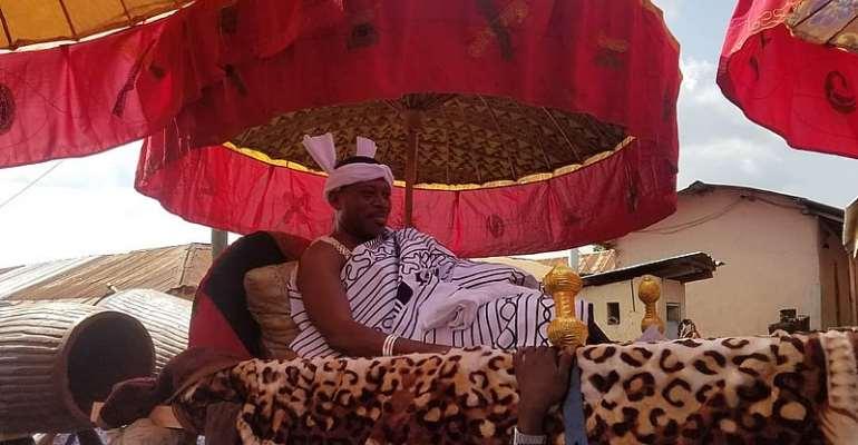 Nana Oguahyia Oduro-Panin Birikorang, Chief of New Edubiase