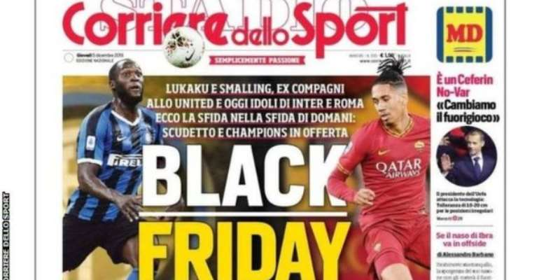 Italian Sports Daily Under Fire Over 'Black Friday' Headline