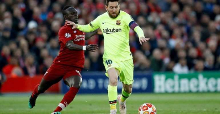 Messi Says Mane Finishing Fourth In Ballon d'Or Is 'A Shame